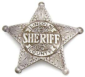 lincoln county sherrif badge