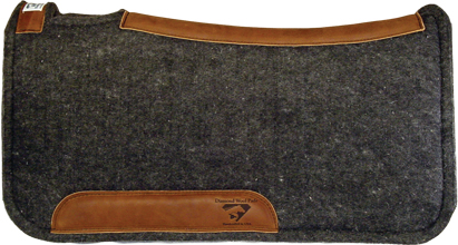 countoured saddle pad