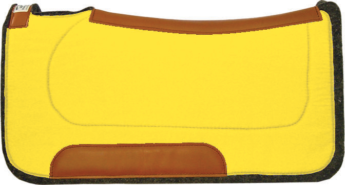 Yellow Saddle Pad