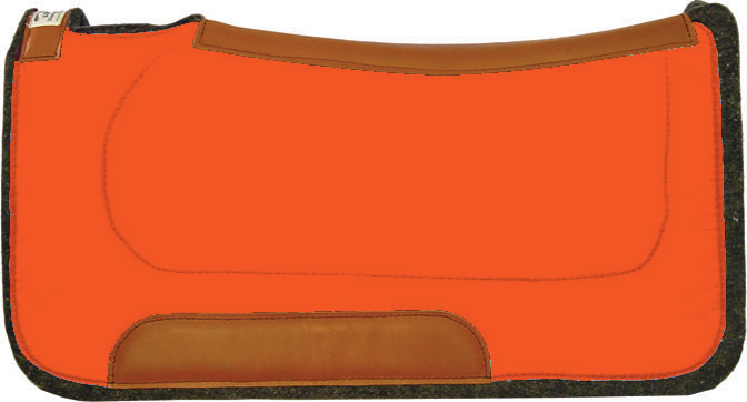 Orange Saddle Pad