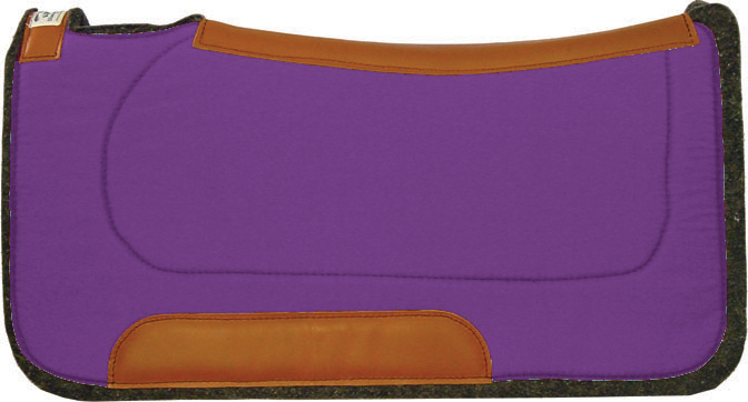 Purple Saddle Pad