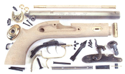 Muzzleloading Pistol Kits, Flintlock and Percussion