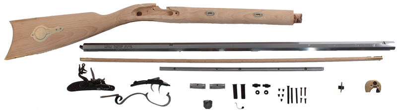 Muzzleloading Rifle Kits, Flintlock and Percussion