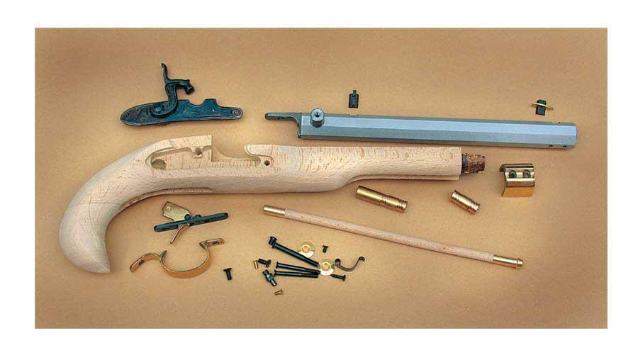 Derringer Pistol Kit Kentucky Pistol Kit
