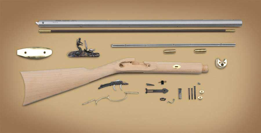 cva kentucky rifle kit instructions