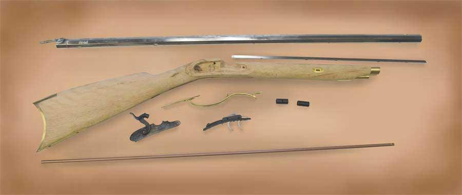 cva kentucky rifle kit instructions