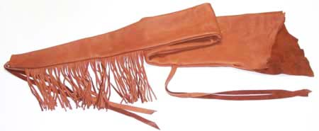 elk hide rifle cover