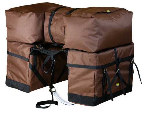 complete saddle pannier pack system